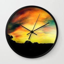 A Dreamscape Revisited Wall Clock