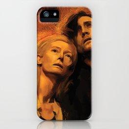 Adam and Eve iPhone Case
