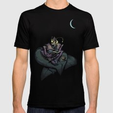 Night Bug Mens Fitted Tee Black MEDIUM