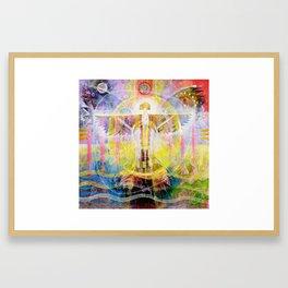 Spirit of the Centre Framed Art Print