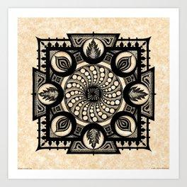 vólkoshan gallery mandala Art Print
