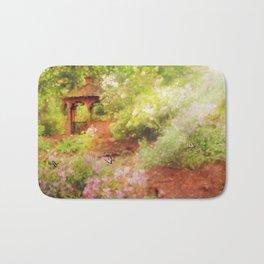 Paradise Garden Bath Mat