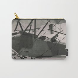 World War 1 vintage aircraft print Carry-All Pouch