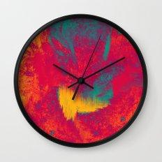 Scratches Wall Clock