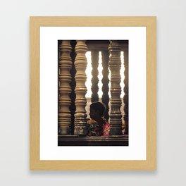 Hanuman in Angkor Framed Art Print