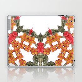 Embroidered Pattern Laptop & iPad Skin