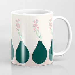 Vase in jungle green Coffee Mug