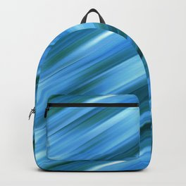 Abstract blue ray background Backpack