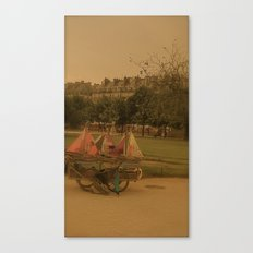 Toy Boats Canvas Print