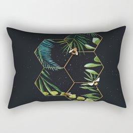 Bee Green Rectangular Pillow