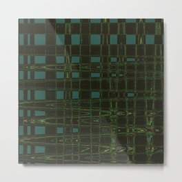 Cool abstract looking. Green to the fullest. Metal Print