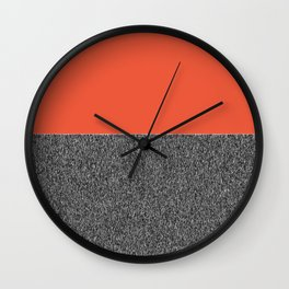 pattern, texture, mixed media, patterns,  Wall Clock