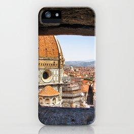 Stone View - Florence Cathedral - Cattedrale di Santa Maria del Fiore iPhone Case