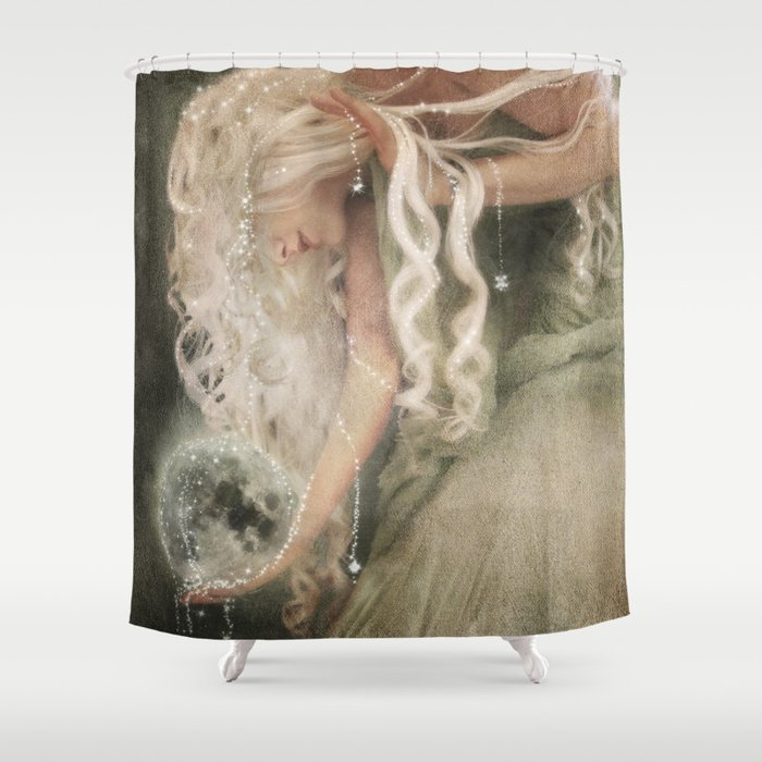 Sister Moon Shower Curtain