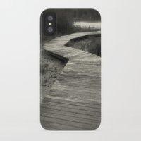 boardwalk empire iPhone & iPod Cases featuring Boardwalk by Curt Saunier