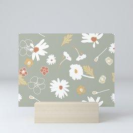 May Monday Floral Mini Art Print