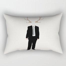 Nature and Society Rectangular Pillow
