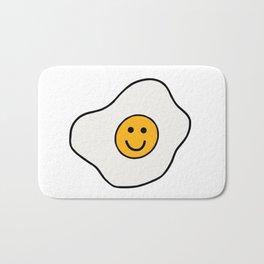 Happy Fried Egg Bath Mat
