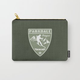 Ski Parkdale Oregon Carry-All Pouch