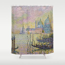 Grand Canal (Venice) - Paul Signac Shower Curtain