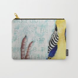 Parakeet Hello Carry-All Pouch