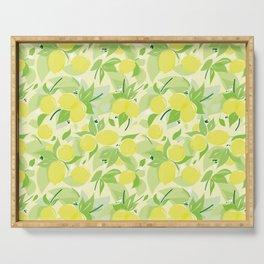 Lemons Serving Tray