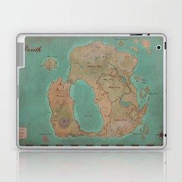 Map of Dereth //Asheron's Call Laptop & iPad Skin