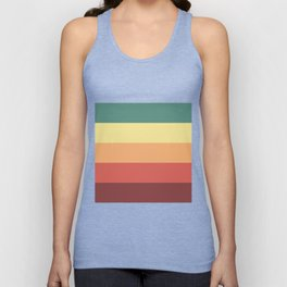 Retro Stripes Unisex Tank Top