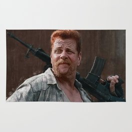 Sergeant Abraham Ford - The Walking Dead Rug