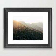 Tennesee Ridge Framed Art Print