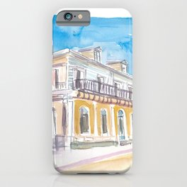 Guadeloupe Pointe a Pitre Old Colonial House iPhone Case