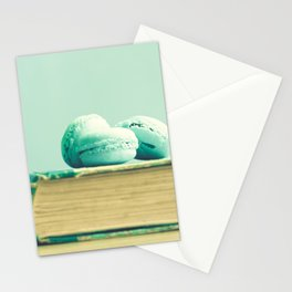 Mint Macaroons  Stationery Cards