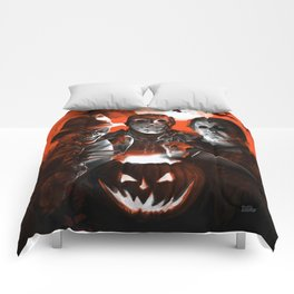 Freddy Krueger Jason Voorhees Michael Myers Super Villians Holiday Comforters