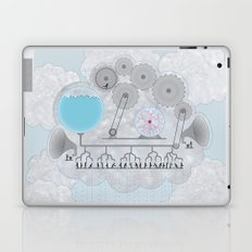 Cross-Section of a Cloud Laptop & iPad Skin