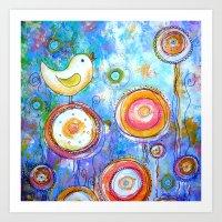 SWEET BIRD 2 Art Print
