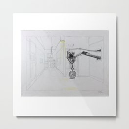 The Timekeeper Metal Print