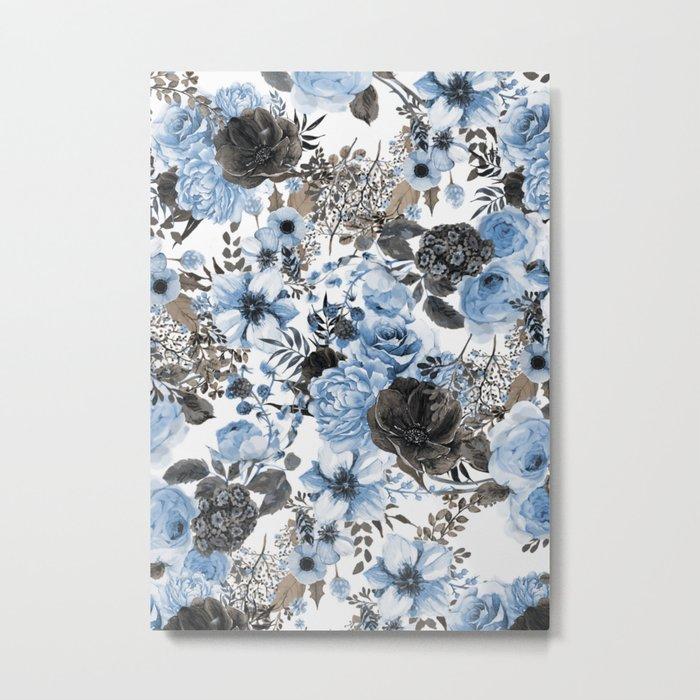 Floral Pattern#4 Metal Print