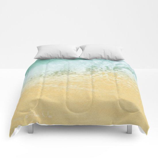 Kite Beach Ocean Splash Comforters