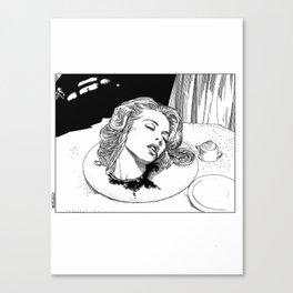 asc 276 - La mort douce (The sweet death) Canvas Print