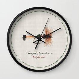 Royal Coachman Wall Clock