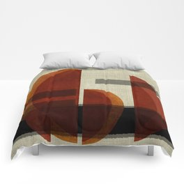 """""""Abstract Ships at Sunset"""" Comforters"""