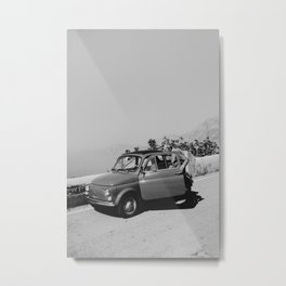 "Mediterranean Dreams Series ""Oldtimer"" | Travel Photography Italy Metal Print"
