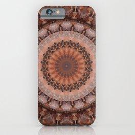 Mandala homely atmosphere iPhone Case