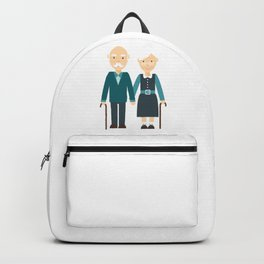 Happy Grandparents Day Backpack