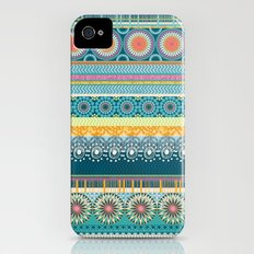 Blue Streaks Slim Case iPhone (4, 4s)