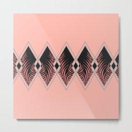 Pink Déco #society6 #decor #buyart Metal Print