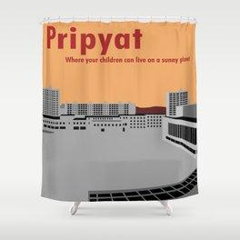 Pripyat City Square #2 Shower Curtain