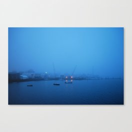 Suspended in This Bliss Canvas Print