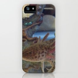 Wild Axolotl iPhone Case