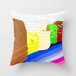 AQUA NATURAL BY IZA Throw Pillow